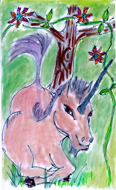 Unicorn Major Arcana -- from my most recent set of Tarot